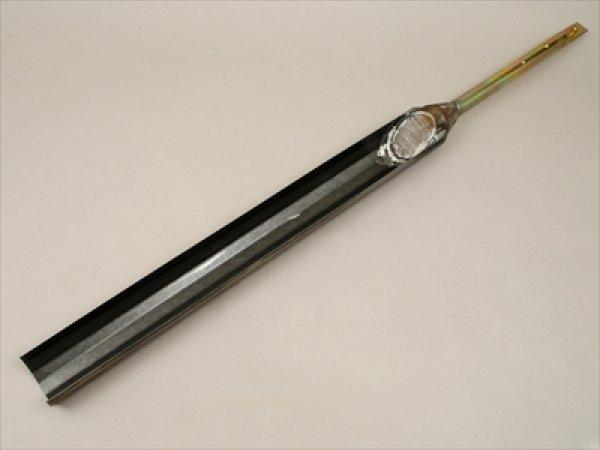 画像1: オーガー半円形刃先 穴径φ6cm 採土部50cm (1)