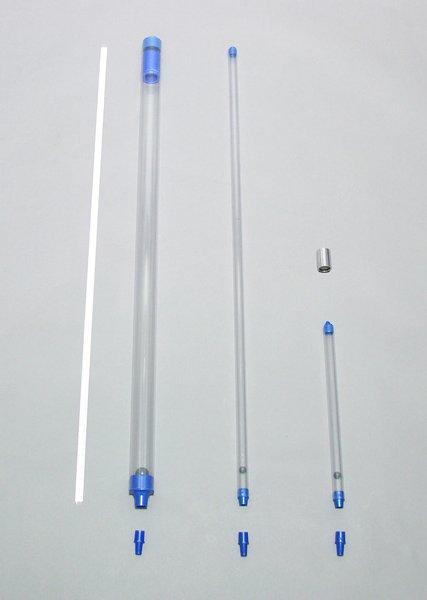 画像1: ベイラーサンプラー管 φ18mm(内径16.5mm)×30cm 70ml (1)
